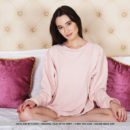 Newcomer Sofia Sun bares her petite body as she strips on the bed.