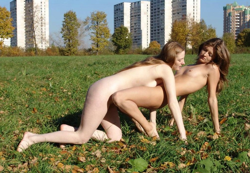 Was naked girls on city streets pictures