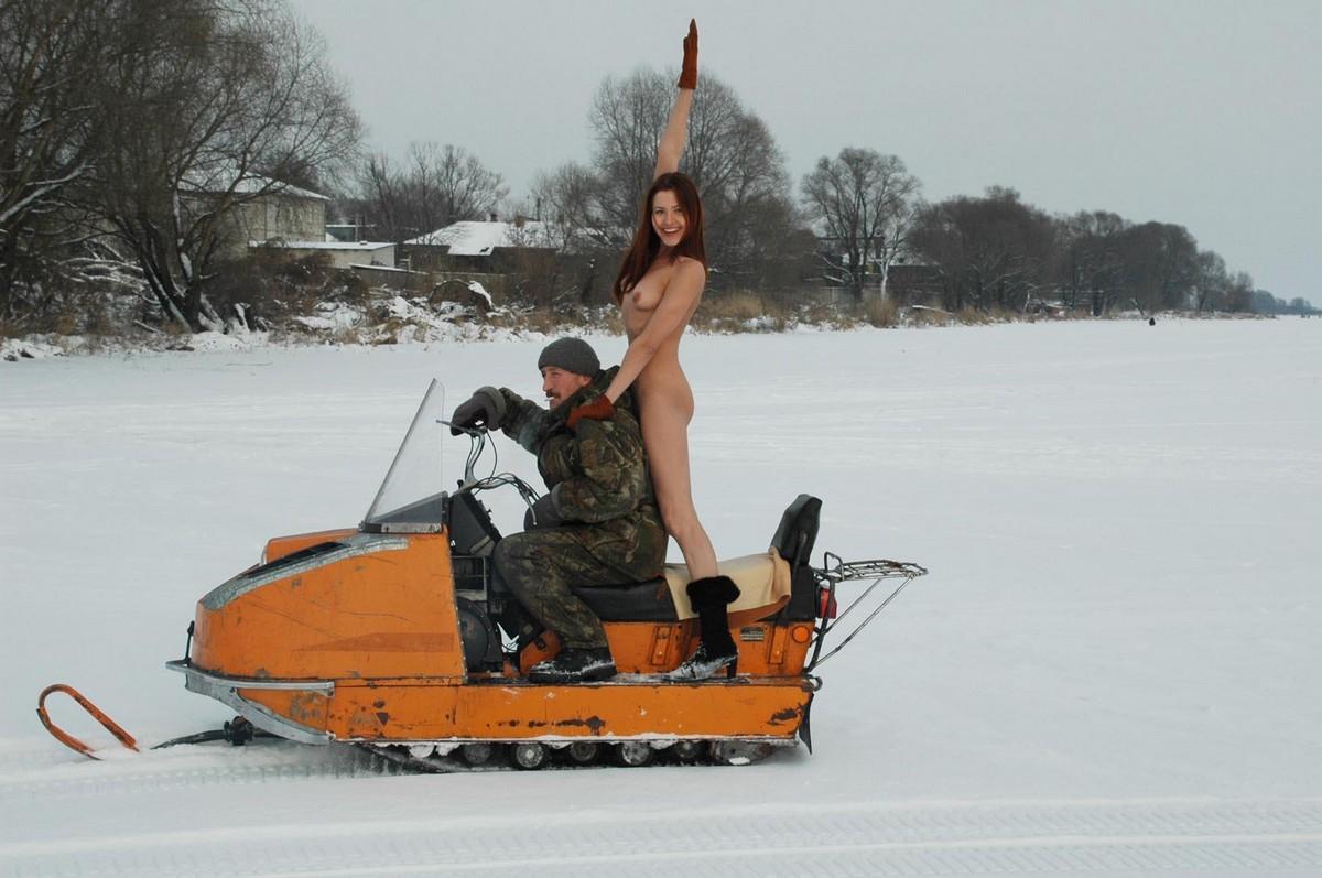 Sluts getting fucked on snowmobiles sex photo