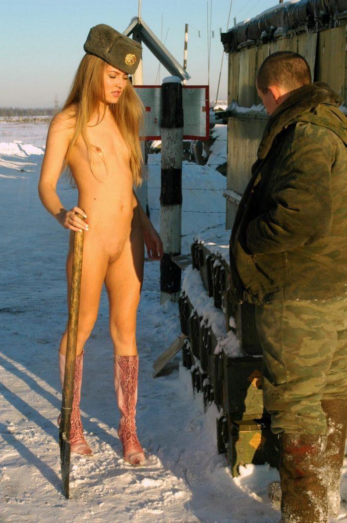 naked german military girls