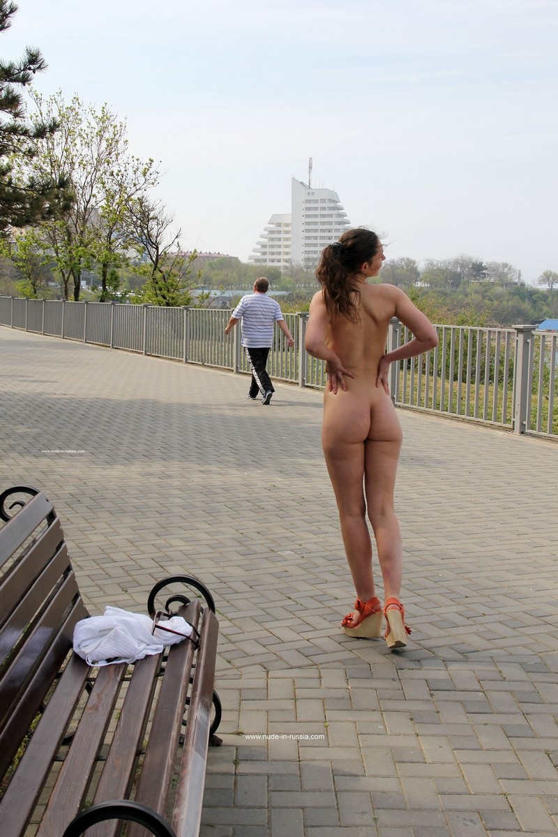 Girls Stripping Naked Public
