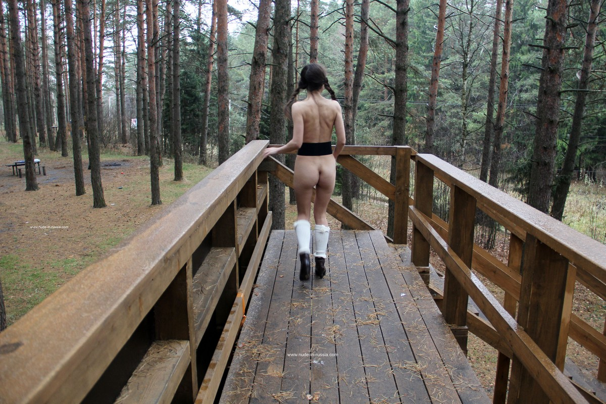 Russian Teen The Forest
