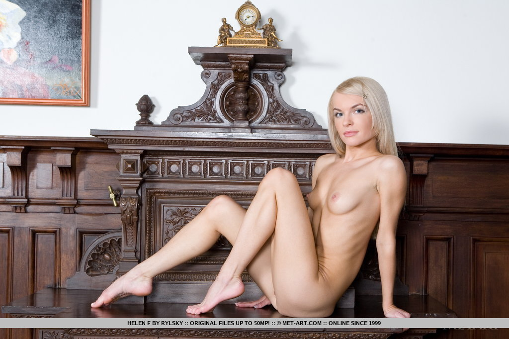 Helen is a delight to shoot, enthusiastically posing for us to flaunt her delightfully petite body with tight and firm assets.