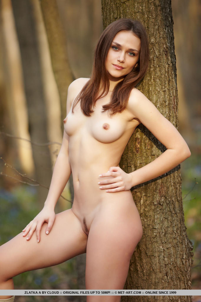 Even in the outdoors, wearing a casual flowing   dress matching knee-high boots, Zlatka is a   delight to watch amidst outdoors with her rocking   hot body and enticing smile.